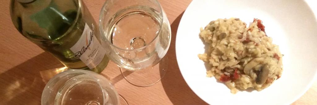"<a href=""/rezepte/risotto-mit-champignons-und-getrockneten-tomaten"">Risotto mit Champignons und getrockneten Tomaten </a>"