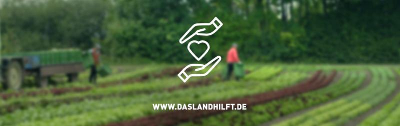 Das Land hilft - Solidarität mit Landwirten in Deutschland
