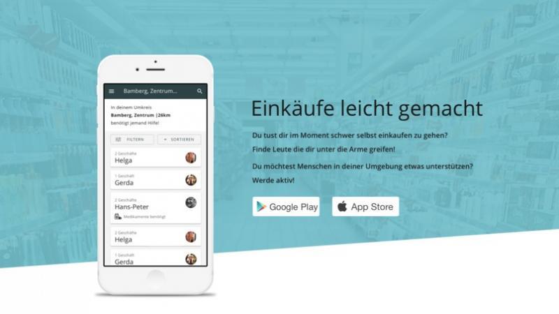 Helping Hands - App für Quarantänehelfer
