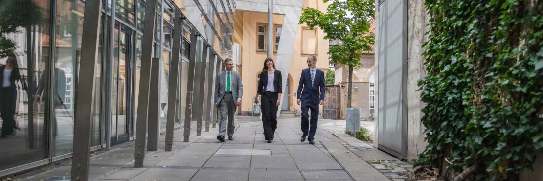 Die neuen Vizepräsidenten der Universität Bamberg
